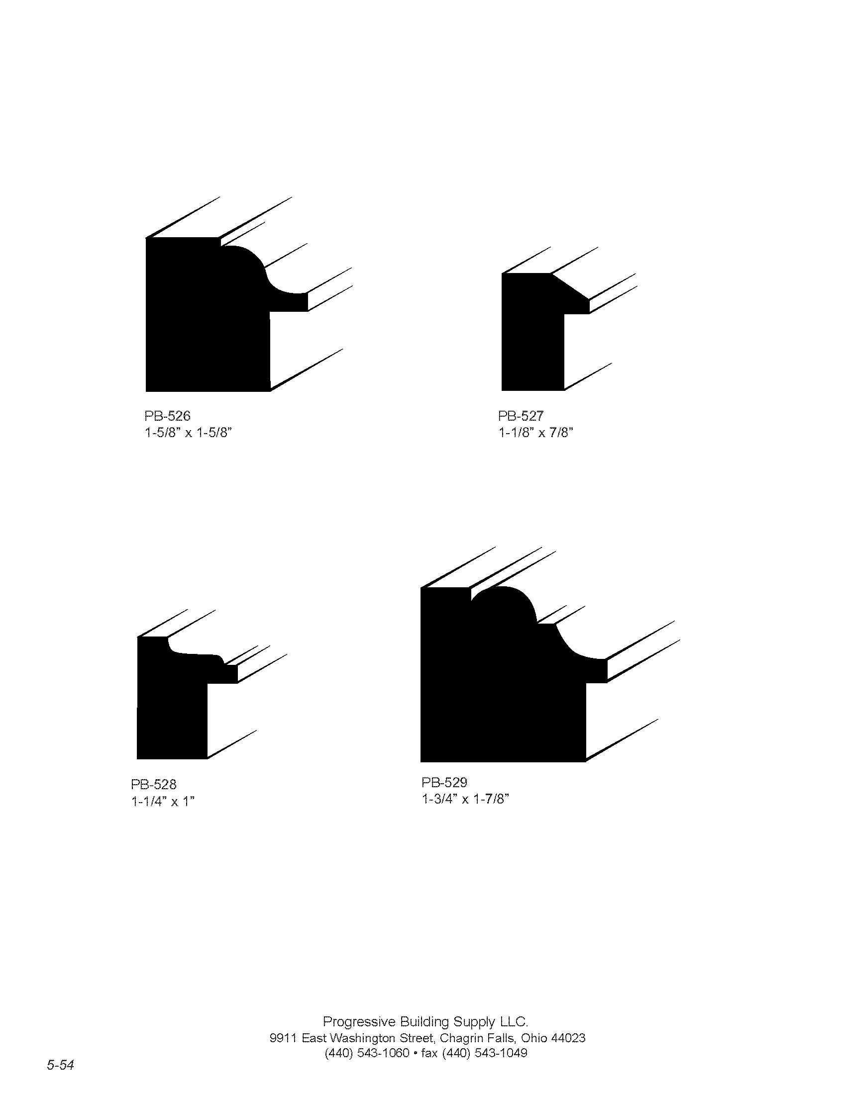 custom backband moulding
